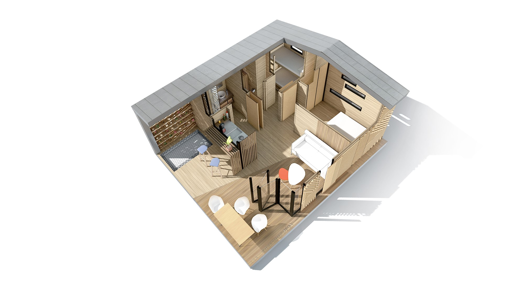 mon chalet d architecte c25 aba workshop. Black Bedroom Furniture Sets. Home Design Ideas