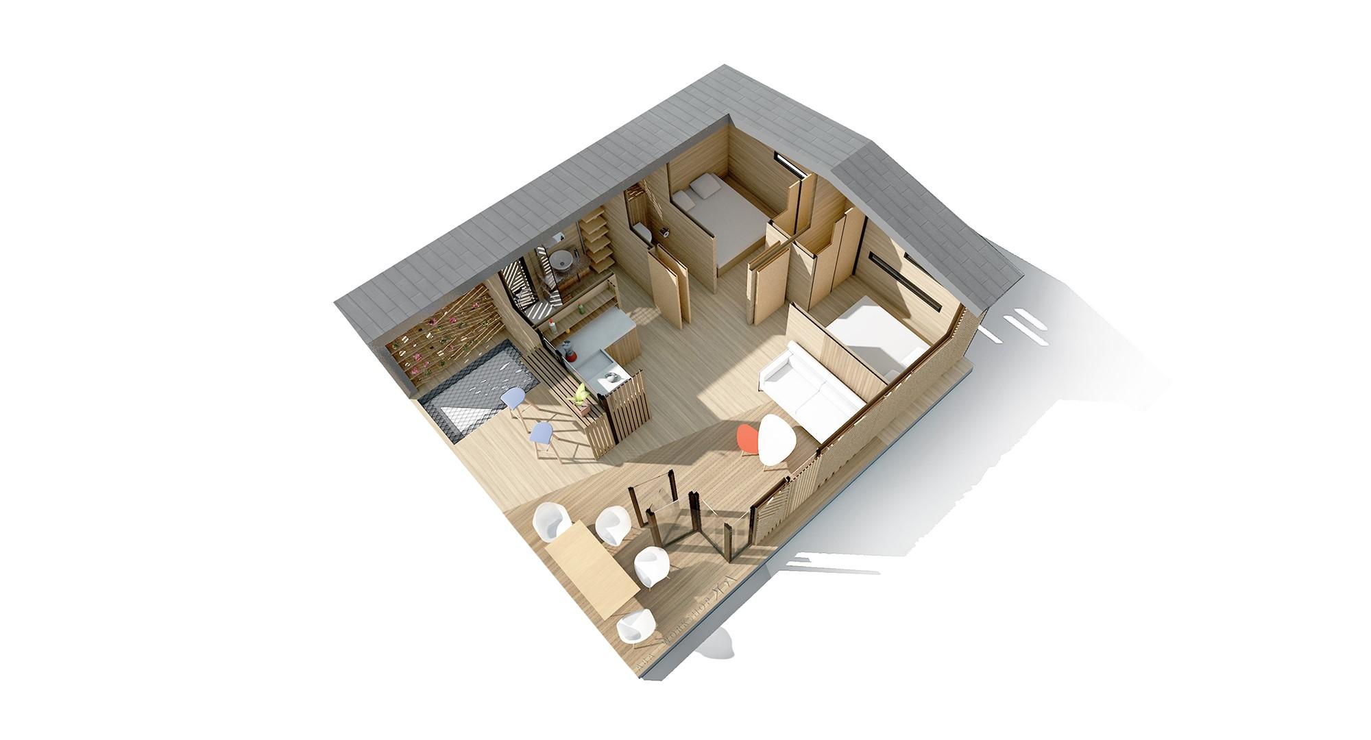 mon chalet d architecte c30 aba workshop. Black Bedroom Furniture Sets. Home Design Ideas