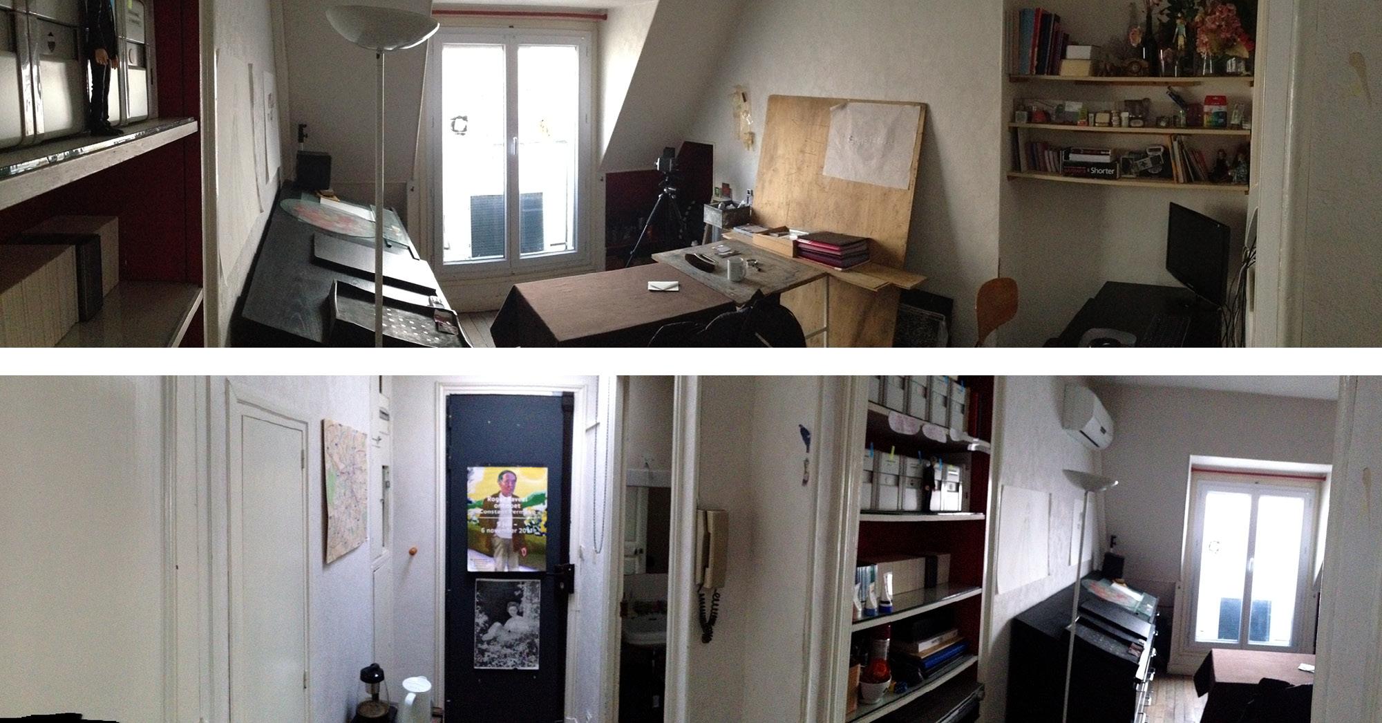 studio tour eiffel aba workshop. Black Bedroom Furniture Sets. Home Design Ideas